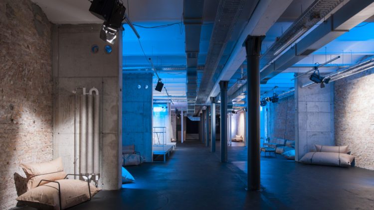 Volta is one of the Factory Berlin spaces for events in Mitte.