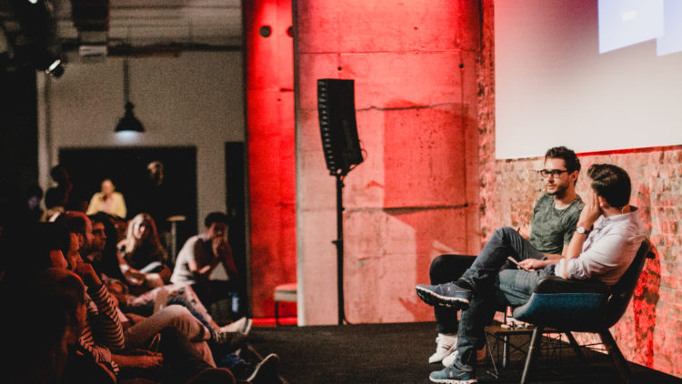 Factory Berlin members access all our community events like Fireside Chats.