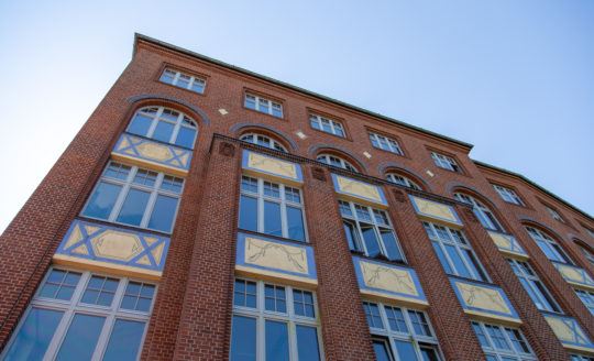 An exterior photo of Factory Berlin Görlitzer Park.