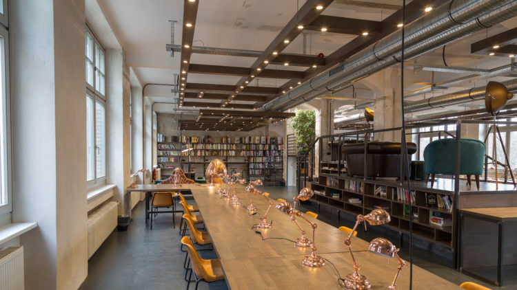 The Library is a signature Factory Berlin space.