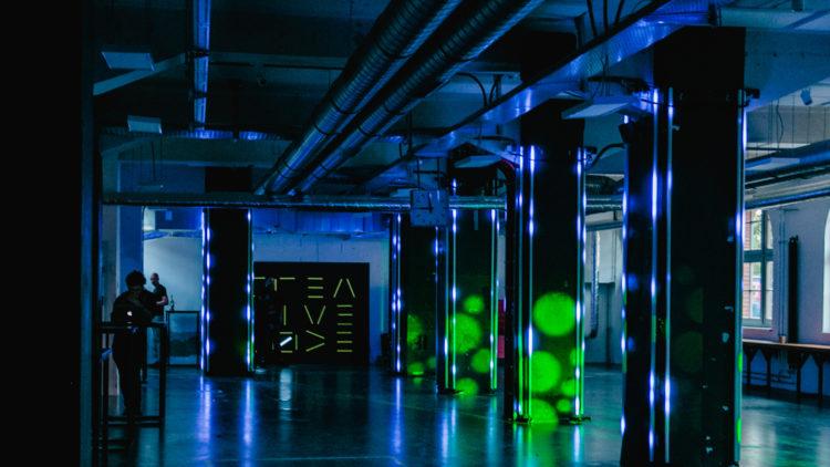 Inside The Creators Lab space at Factory Berlin Görlitzer Park.