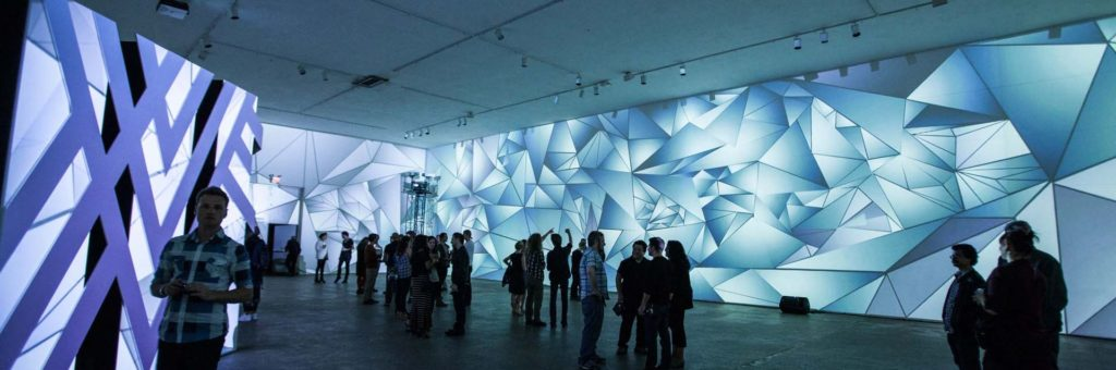 Lairs Projection Installation by Dejha Ti & Ania Catherine