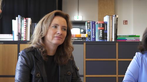 NewSchool Founder + Principal, Sabrina Heimig-Schloemer and Kirsten Henschkel