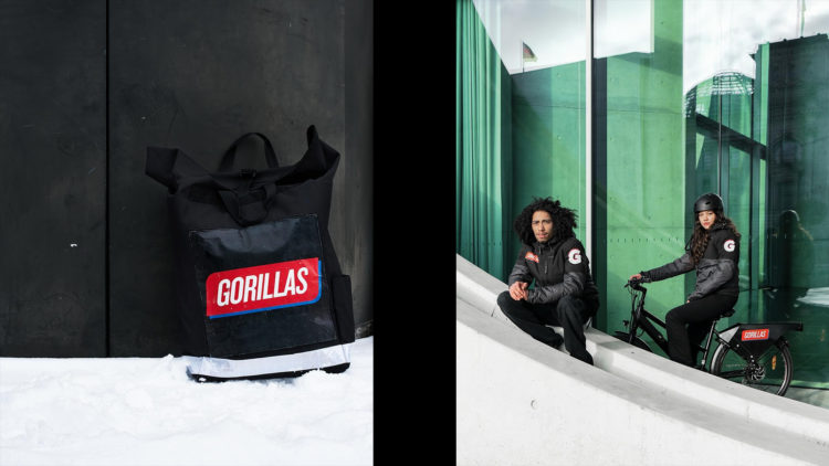 Gorillas collage riders backpack